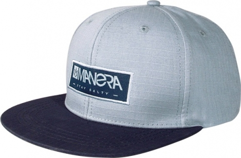 Manera Cap Ripstop Alloy Blue