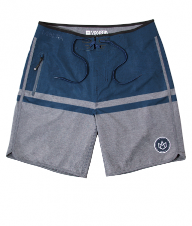 HAAPITI Boardshort - Slate black / Heather Grey