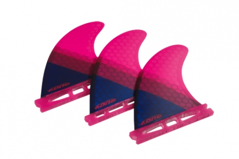 F-one Flow XS Thruster Set pink